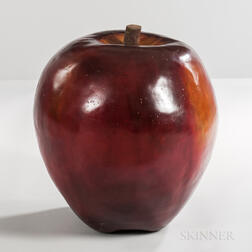 Large Apple Sculpture
