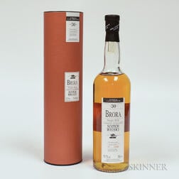 Brora 30 Years Old, 1 70cl bottle (ot)