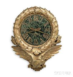 E. Howard & Company Custom-order Carved and Gilded Gallery Clock