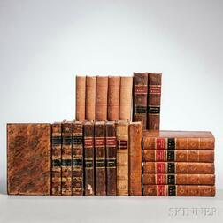 Decorative Bindings, Sets, Approximately Forty-two Volumes.