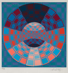 Victor Vasarely (Hungarian/French, 1906-1997)      Three Compositions