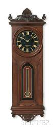 E. Howard & Company No. 41 Wall Clock with Black Dial