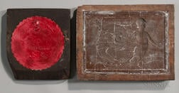 Two Art Tile Molds