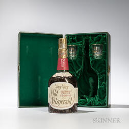 Very Very Old Fitzgerald 12 Years Old 1952, 1 4/5 quart bottle (pc)