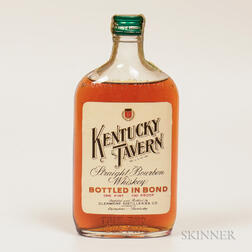 Kentucky Tavern 4 Years Old 1941, 1 pint bottle