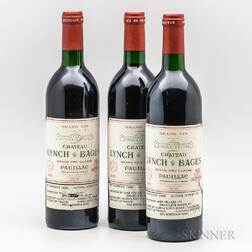 Chateau Lynch Bages 1985, 3 bottles