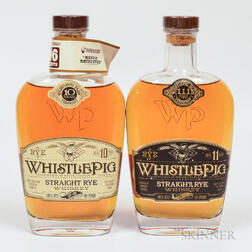 Mixed Whistle Pig, 2 750ml bottles