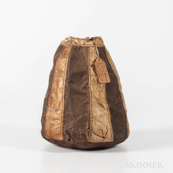 Eskimo Fish and Seal Skin Bag