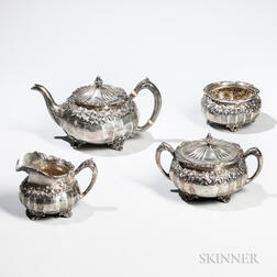 Four-piece Reed & Barton Sterling Silver Tea Service