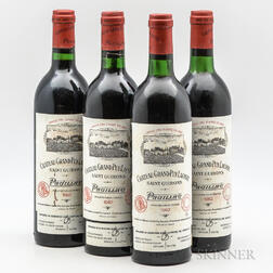Chateau Grand Puy Lacoste 1982, 4 bottles