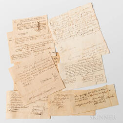 Group of Historical Documents