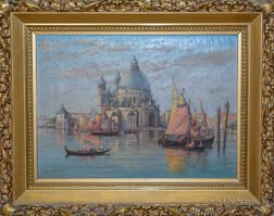 C. Myron Clark (Massachusetts, 1858-1925)       Palladio's Church, Venice