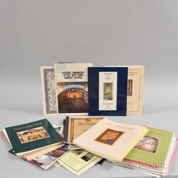 Thirty-six Reviews, Newsletters, Monographs, and Other Art Pottery Tile Pamphlets