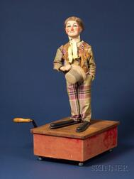 Rare Roullet et Decamps Automaton of the English Comedian Little Tich