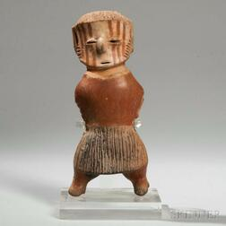 Chinesco Painted Standing Figure