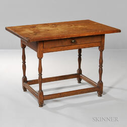 Tavern Table with Drawer