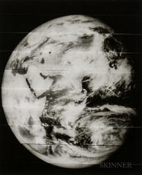 Taken by a Camera Aboard the Lunar Orbiter 5 Spacecraft