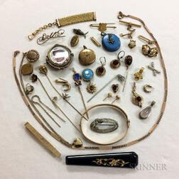 Group of Victorian and Vintage Jewelry