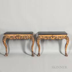 Pair of Giltwood Consoles