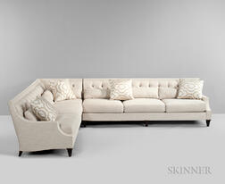 Large Thomas Pheasant for Baker Corner Sectional Sofa