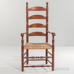 Tall Ladder-back Armchair