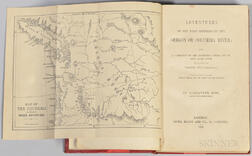 Ross, Alexander (1783-1856) Adventures of the First Settlers on the Oregon or Columbia River: Being a Narrative of the Expedition Fitte