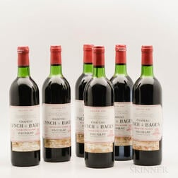Chateau Lynch Bages 1983, 6 bottles