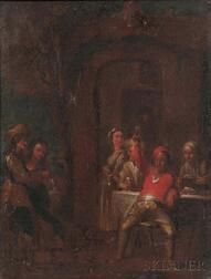 Manner of David Teniers the Younger (Flemish, 1610-1690)      Tavern Interior