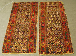 Two Bidjar Long Rug Fragments