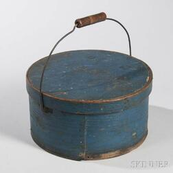 Blue-painted Bail-handle Pantry Box