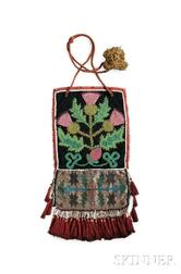 Kaska Beaded Cloth Panel Bag