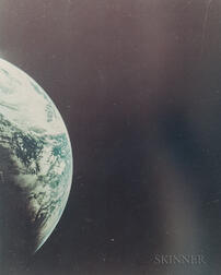 Taken by a Maurer 70mm Camera Aboard the Apollo 4 Spacecraft