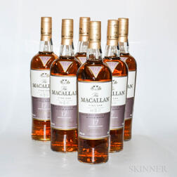 Macallan Fine Oak 17 Years Old, 6 750ml bottles (oc)