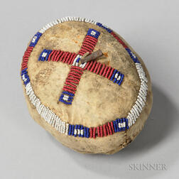 Sioux Beaded Hide Ball