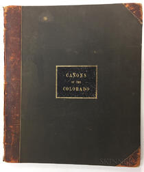 Dutton, Clarence E. (1841-1912) Atlas to Accompany the Monograph on the Tertiary History of the Grand Canon District.