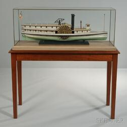 Folk Art Model of the Paddlewheel Steamer Diamond