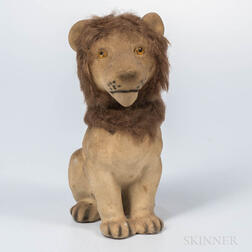 Nodding Lion Toy