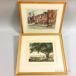 Two Framed Works of Philadelphia