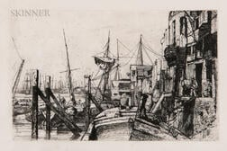James Abbott McNeill Whistler (American, 1834-1903)      Limehouse