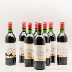 Chateau Lynch Bages 1980, 8 bottles