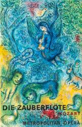 After Marc Chagall (Russian/French, 1887-1985)      Die Zauberflöte/Mozart/Metropolitan Opera