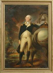 After Gilbert Stuart, 19th Century      Portrait of George Washington at Dorchester Heights.