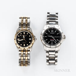 Two Contemporary Wristwatches