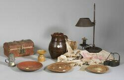 Group of Twelve Early Household Items