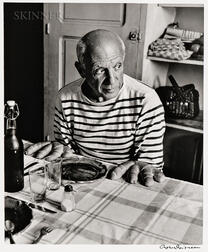 Robert Doisneau (French, 1912-1994)      Les pains de Picasso