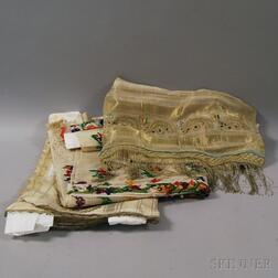 Three Raw Silk Gauze Headdresses