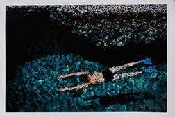 Ernst Haas (Austrian/American, 1921-1986)      The Swimmer, Greece