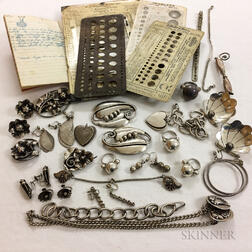Group of Walter Meyer Sterling Silver Jewelry