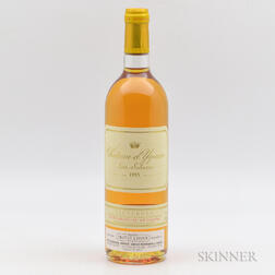 Chateau dYquem 1995, 1 bottle
