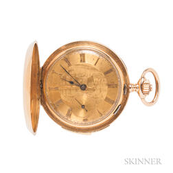 18kt Gold Minute Repeater Pocket Watch
